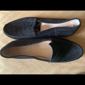Women's J.Crew black loafers